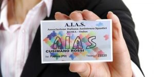 Tesseramento AIAS Associazione Italiana Assistenza Spastici Padova
