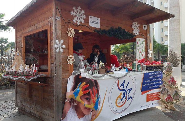 AIAS Padova Mercatini di Natale dicembre 2019 Abano Terme (PD)