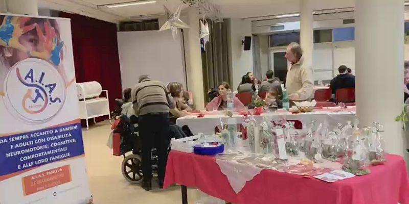 AIAS Padova festa di Natale scambio di Auguri natalizi 15 dicembre 2019
