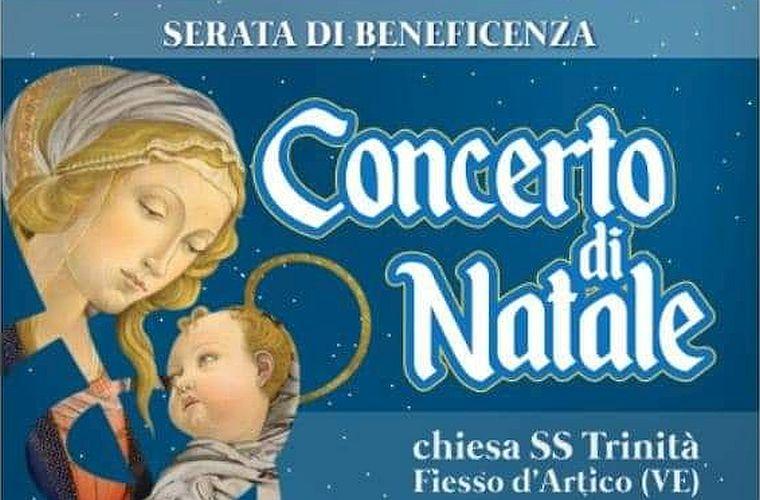 domenica 08 dicembre 2019 Concerto di beneficenza a Fiesso d'Artico VE pro AIAS Padova
