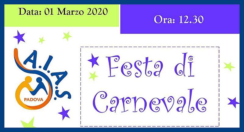 AIAS Padova Festa di carnevale dom 01 marzo 2020